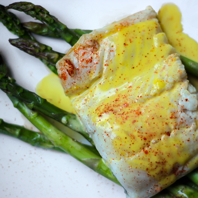 Red Snapper and Asparagus with Hollandaise - Real Plans
