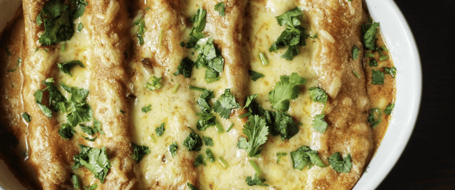 How to Make Fiesta Enchiladas - Real Plans