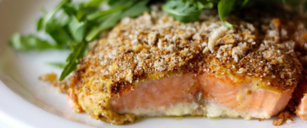 Mustard Crusted Salmon