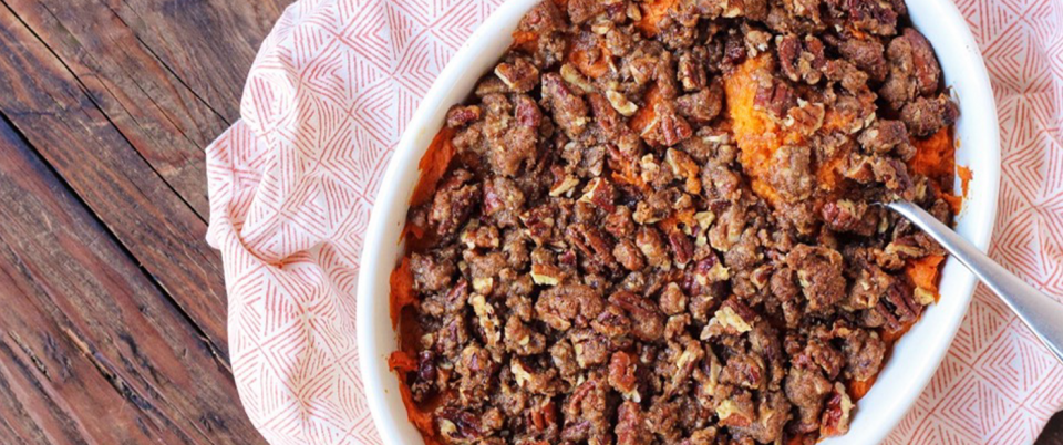Dairy Free Sweet Potato Casserole Recipe - Real Plans