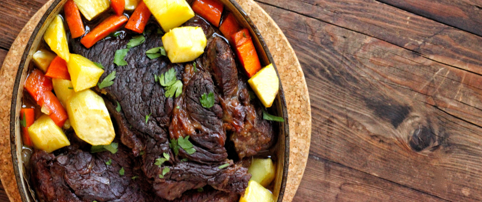 Classic Pot Roast with Root Veggies (AIP) - Real Plans