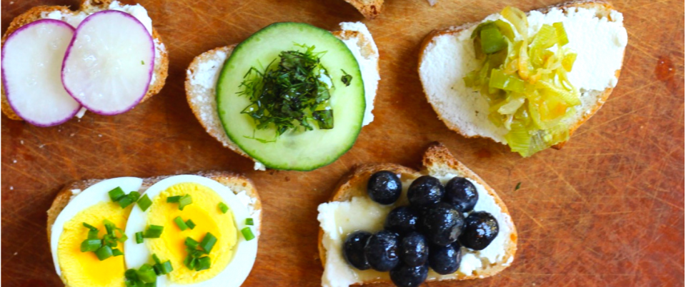 Ricotta Crostini Party - Real Plans
