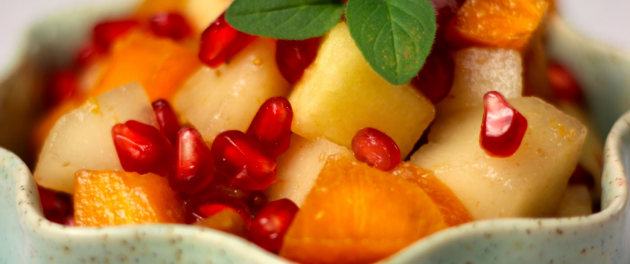 Autumn Fruit Salad - Real Plans