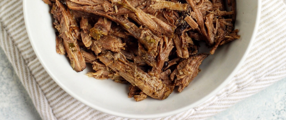Slow Cooker Shredded Beef - Real Plans