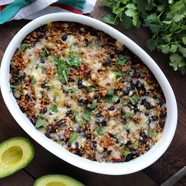 Rice and Bean Casserole - Real Plans