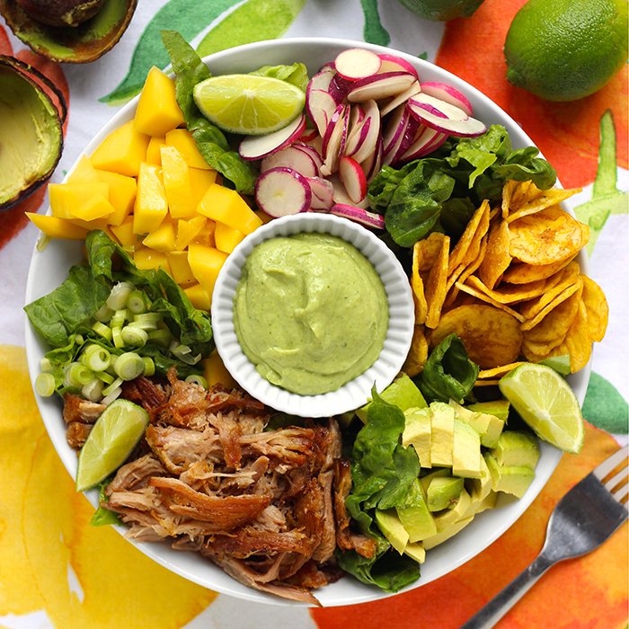 Southwest Salad with Pork (AIP) - Real Plans