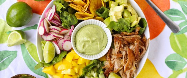 AIP Southwest Salad With Pork Recipe - Real Plans