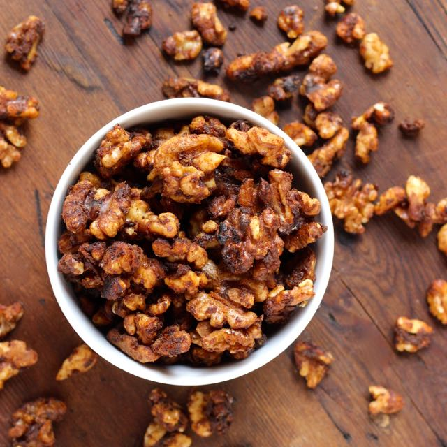 Candied Walnuts - Real Plans